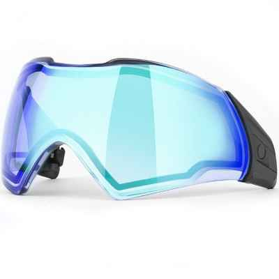 Push Unite Paintball Thermal Masking Glass (Chrome blue) | Paintball Sports