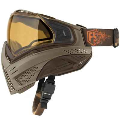 Push Unite Paintball Mask First Strike Edition (Tan / Brown) | Paintball Sports