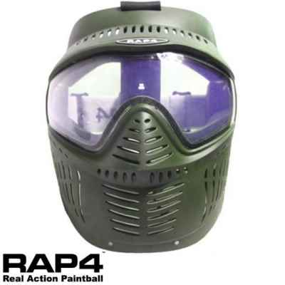 RAP4 Hawkeye Paintball Thermal Mask (olive) | Paintball Sports