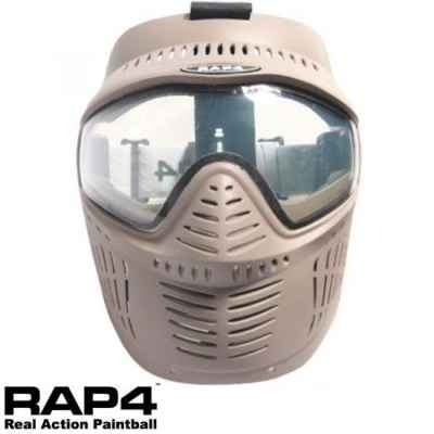 RAP4 Hawkeye Paintball Thermal Mask (Desert / Tan) | Paintball Sports