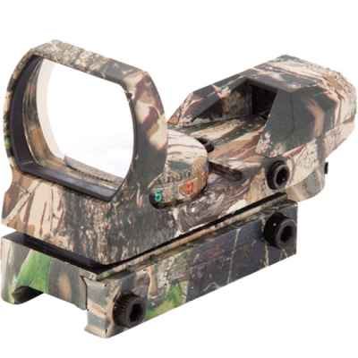 RD33 Tactical Green / Red Dot for 20mm Rail (Realtree Camo) | Paintball Sports