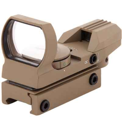 RD33 Tactical Green / Red Dot for 20mmRail (Tan) | Paintball Sports