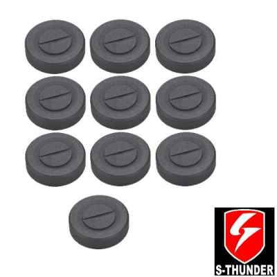 S-Thunder Powder / Powder Mine Closure Pack of 10 (Blk) | Paintball Sports