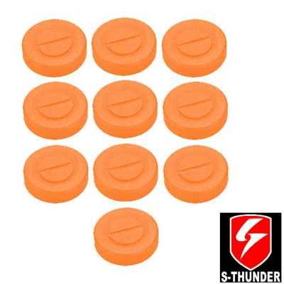 S-Thunder Powder / Powder Mine Closure Pack of 10 (Tan) | Paintball Sports
