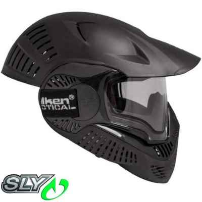 Valken MI-7 Full Cover Paintball Thermal Mask (Black) | Paintball Sports