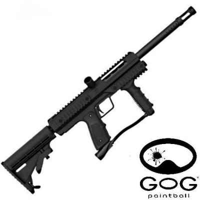 Smart Parts / GoG G-1M Tactical Marker (Black) | Paintball Sports
