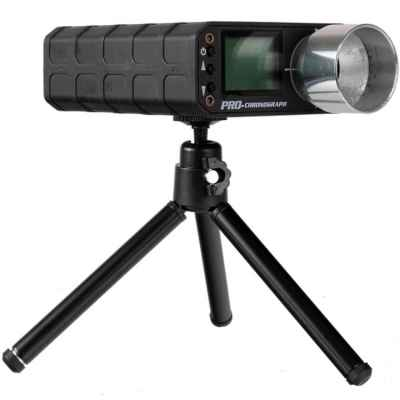 SPINA AC5000 Airsoft Chrony X3200 / FPS Meter with Stand (Black) | Paintball Sports