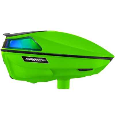 Virtue Spire 3 Paintball Hopper / Loader (Lime Green) | Paintball Sports