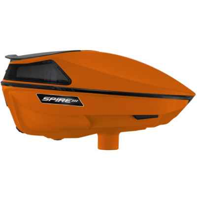 Virtue Spire 3 Paintball Hopper / Loader (orange) | Paintball Sports