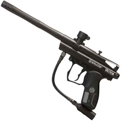 Kingmann Spyder Victor Paintball Marker (black) | Paintball Sports