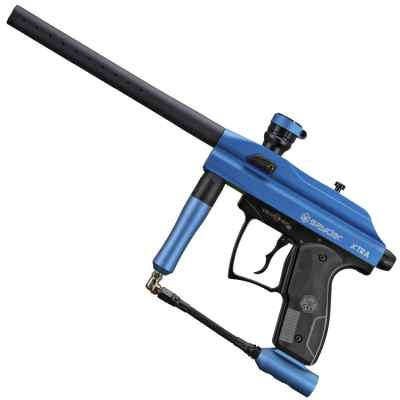 Kingmann Spyder Xtra Paintball Marker (Blue) | Paintball Sports
