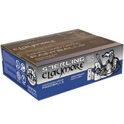 Sterling Claymore Premium Field Paintballs (2000 pcs) | Paintball Sports