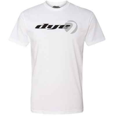 Dye T-Shirt (Logo Lock) White | Paintball Sports