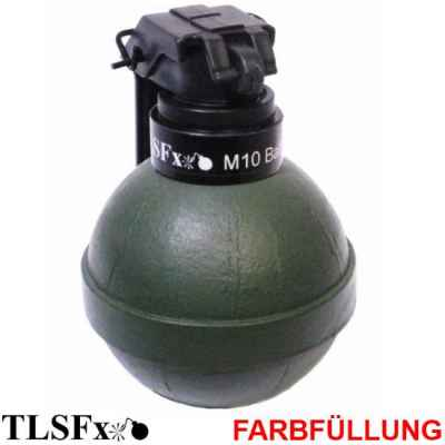 TLSFx Paintball / Airsoft M10 grenade with rocker arm | Paintball Sports