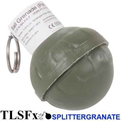 TLSFx Paintball / Airsoft fragmentation grenade with detonator | Paintball Sports