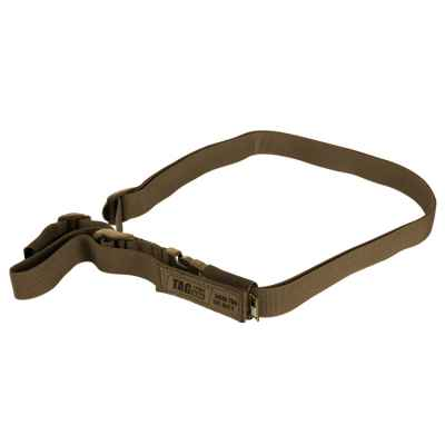 Taginn 1-POINT Strap / Tactical Sling (Coyote Brown) | Paintball Sports
