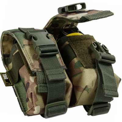Taginn double grenade pouch / grenade pouch (set of 2) - multicam | Paintball Sports