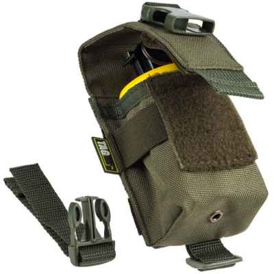 Taginn Single Grenade Pouch / Hand Grenade Bag (single) - olive | Paintball Sports
