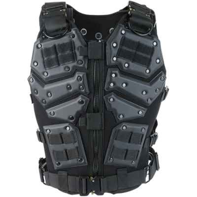 Tactical Torso / Breastplate for Paintball & Airsoft (black) | Paintball Sports