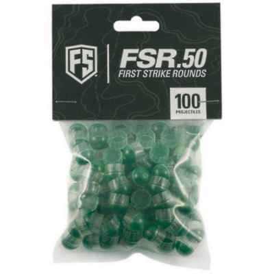 Tiberius Arms First Strike Paintball Cal.50 100 shots (clear / green) | Paintball Sports