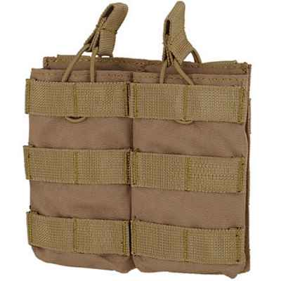 M16 / M4 / AR-15 Magazine Pouch for Molle System (2pcs) - desert / tan | Paintball Sports