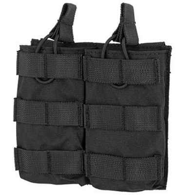 M16 / M4 / AR-15 Magazine Pouch for Molle System (2pcs) - black | Paintball Sports