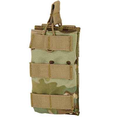 M16 / M4 / AR-15 Magazine Pouch for Molle System (Single) - Multicamo | Paintball Sports