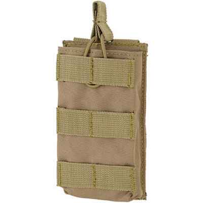 M16 / M4 / AR-15 Magazine Pouch for Molle System (Single) - desert / tan | Paintball Sports