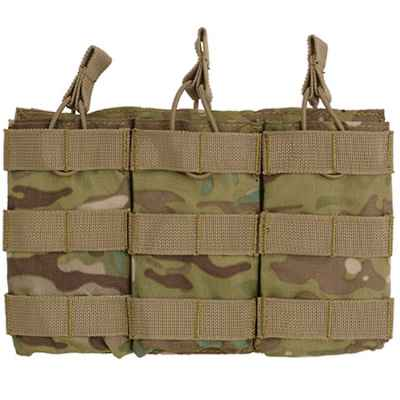 M16 / M4 / AR-15 Magazine Pouch for Molle System (3 Series) - Multicamo   Paintball Sports