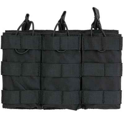 M16 / M4 / AR-15 Magazine Pouch for Molle System (3er) - black | Paintball Sports