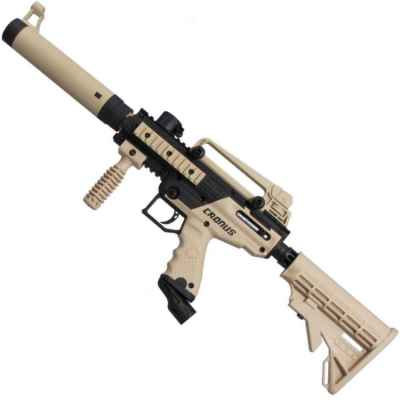 Tippmann Cronus Cal. 50 Tactical Paintball Markers (black / tan) | Paintball Sports