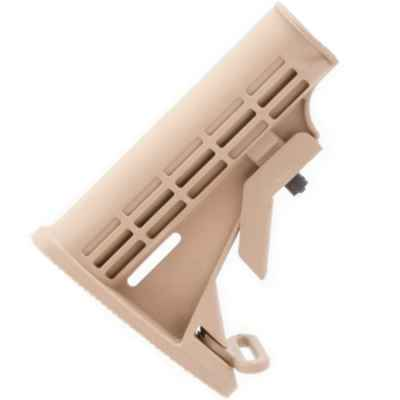 RAP4 M-16 Shoulder Supports Cover, Plastic (Desert / Tan) | Paintball Sports