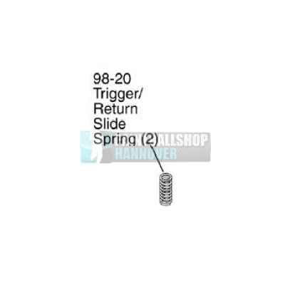Tippmann Trigger Return Spring 98-20 | Paintball Sports