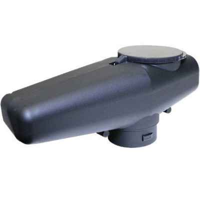 Tippmann A5 / X7 Low Profile Offset Cyclone Feed Hopper (Black)   Paintball Sports
