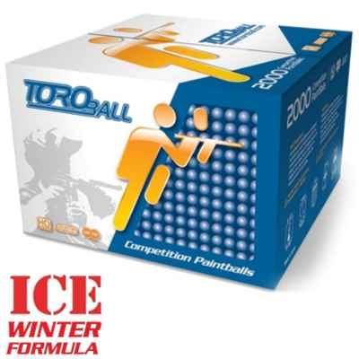 Toro ICE Winter Paintballs (2000 pcs) | Paintball Sports