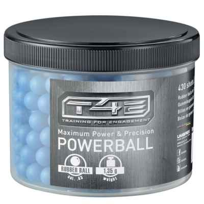 Umarex T4E Powerballs Cal. 43 rubber bullets for RAM weapons (430 rounds) - blue | Paintball Sports