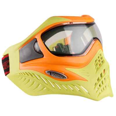 V-Force Grill Paintball Thermal Mask Ltd. Edition (orange / lime) | Paintball Sports