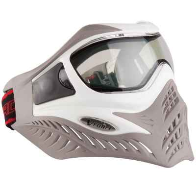 V-Force Grill Paintball Thermal Mask Ltd Edition (white / taupe) | Paintball Sports