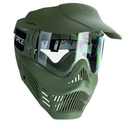 V-Force Armor Rental Paintball Thermal Mask (olive) | Paintball Sports
