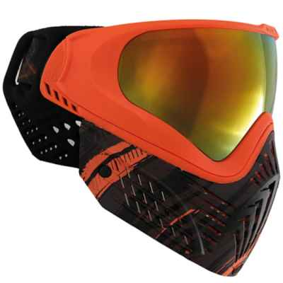 Virtue VIO EXTENDED Graphics Paintball Mask (Amber) | Paintball Sports