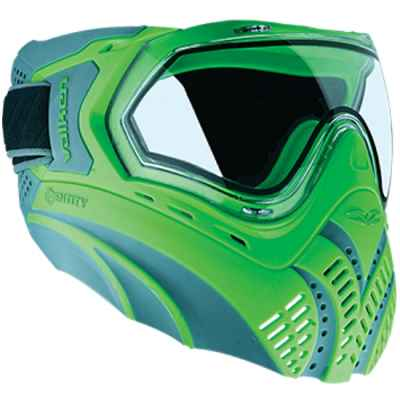 Valken Identity Paintball Thermal Mask (gray / green) | Paintball Sports