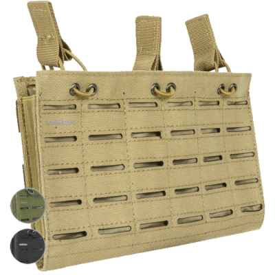 Valken Multi Rifle Triple Magazine Pouch - Laser Cut | Paintball Sports
