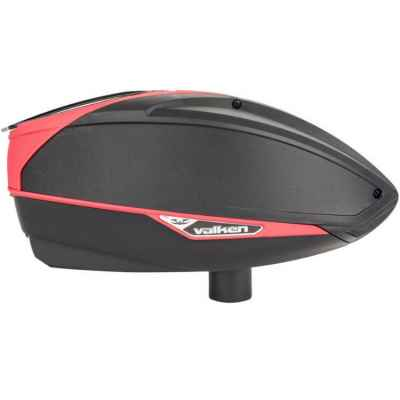 Valken VSL Switch Paintball Multiloader Cal 50 / Cal 68 (black / red) | Paintball Sports