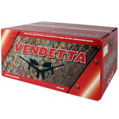 Vendetta Tactical Premium Paintballs (2000 pcs) | Paintball Sports