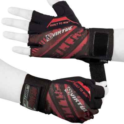Virtue Breakout Paintball Half Finger Gloves (red) | Paintball Sports