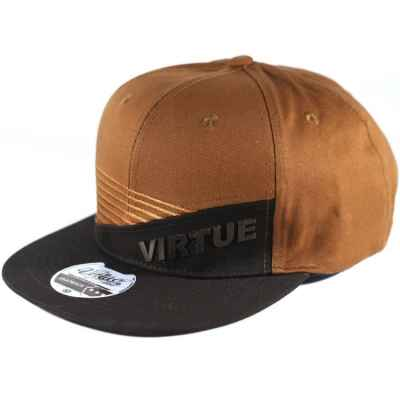 Virtue Paintball Snapback Hat (Brown / Black - Marauder) | Paintball Sports