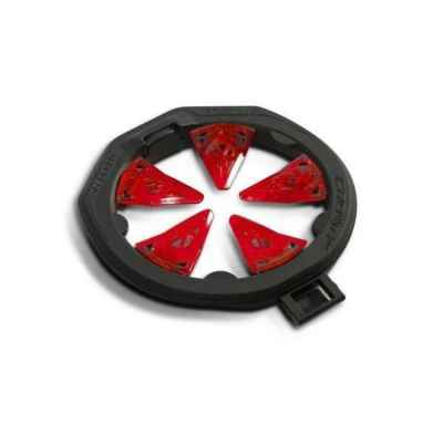 Virtue SF2 Crown for Spire 3 Hopper (Fire Red) | Paintball Sports