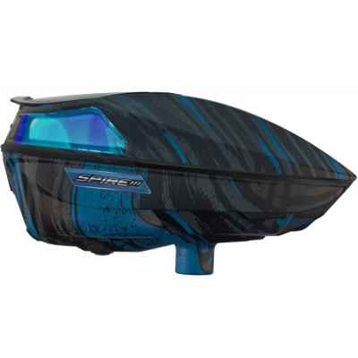 Virtue Spire 3 Paintball Hopper / Loader (Graphics Ice cyan)   Paintball Sports