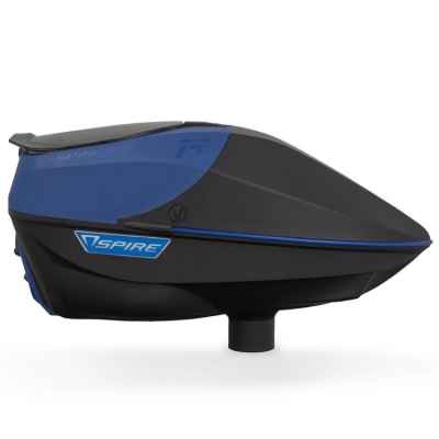 Virtue Spire IR Paintball Hopper / Loader (blue / black) | Paintball Sports