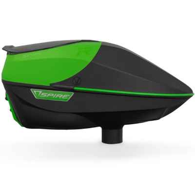 Virtue Spire IR Paintball Hopper / Loader (green / black) | Paintball Sports